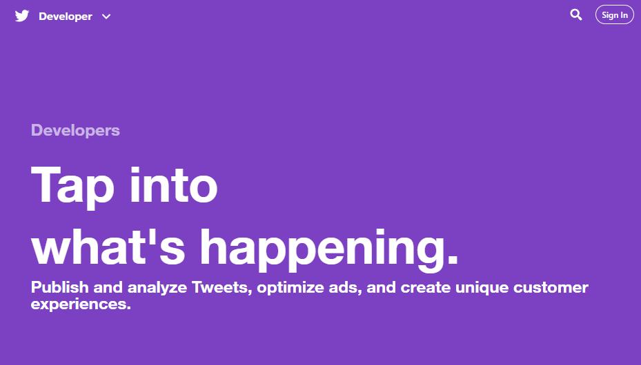 2019年!Twitter APIの申請とデベロッパー登録の方法