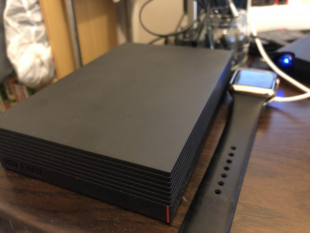【Amazon.co.jp限定】BUFFALO USB接続 外付けハードディスク テレビ録画対応 日本製 みまもり合図 2TB HD-AD2U3