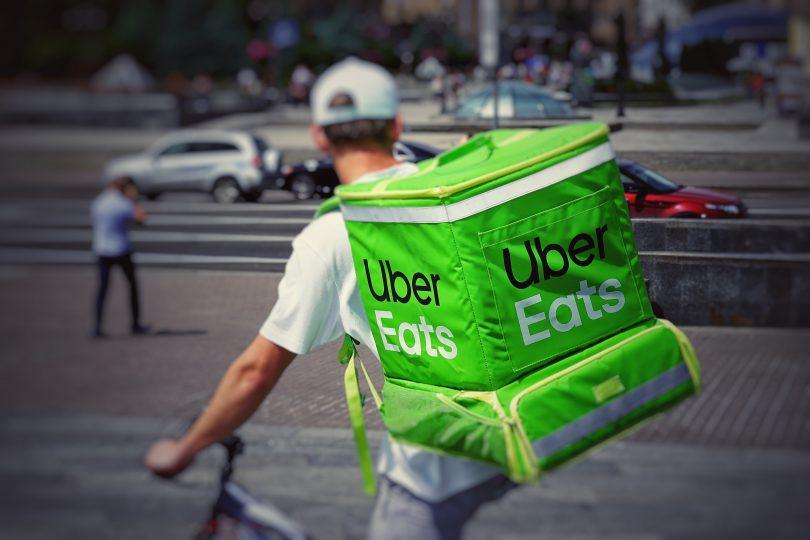 UberEats(ウーバーイーツ)の口コミ評判レビュー記事のアイキャッチ画像