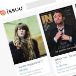 無料でWEBカタログを作成できるサービス『issuu』の使い方記事のアイキャッチ画像