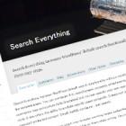 カスタムフィールドをサイト内検索の対象にする「Search Everything」[WordPress]